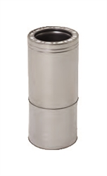 7 inch Telescoping Ventis 316L Class-A Solid Fuel Chimney Pipe