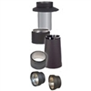 "VDB06SA - 6"" Ventis Double-Wall Black Stove Pipe, Stove Adapter"