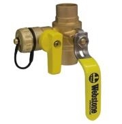 "webstone 3/4"" 5061 forged brass ball valve with drain"