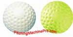 Jugs Sting-Free Dimpled Pitching Machine Softballs