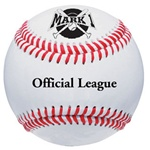 Mark 1 Offical League Leather Baseball