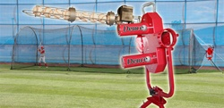 Heater Deuce Baseball Pitching Machine & Batting Cage