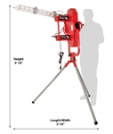Heater Deuce Fastball Curveball Pitching Machine