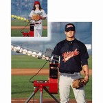 Heater Combo Baseball Softball Pitching Machine