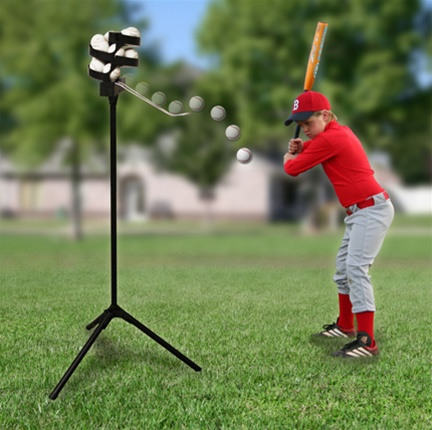Scorpion Soft Toss Baseball Pitching Machine