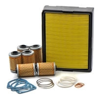 Maintenance Filter Kit for BMW Airheads Without Oil Cooler / 13 72 1 337 080, 11 42 1 337 570 / EnDuraLast