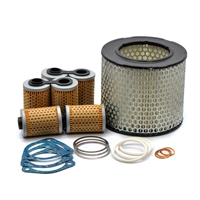Maintenance Filter Kit for BMW Airheads Without Oil Cooler / 13 72 1 254 382, 11 42 1 337 570 / EnDuraLast
