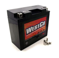 westco agm absorbed glass mat 12 volt 12 amp hour battery for moto guzzi 900 ss monster. Black Bedroom Furniture Sets. Home Design Ideas