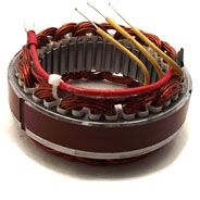12 31 1 243 001, 12311243001, Airhead stator, Bosch stator, Bosch 3-phase stator, 12 31 1 243 001, 0 120 340 001, 0 120 340 002, 0 120 340 003, 0 120 340 006, BMW motorcycle charging system, bmw r charging system, bosch charging system bmw motorcycle
