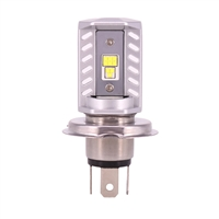 H4 LED Headlight Bulb - BMW Airhead,F, G, K, Oilhead, Hexhead & Scooter; 63 12 1 354 619 / EnDuraLast