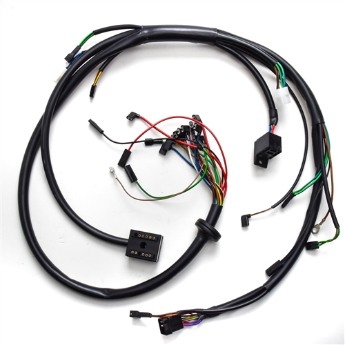 11 1v wiring diagram chassis wire harness bmw r airhead   61 11 1 244 093  chassis wire harness bmw r airhead