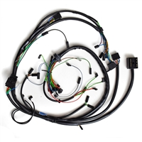 bmw airhead wiring harnesses to improve your electrical system rh euromotoelectrics com bmw r90/6 wiring harness BMW Battery Wiring Harness