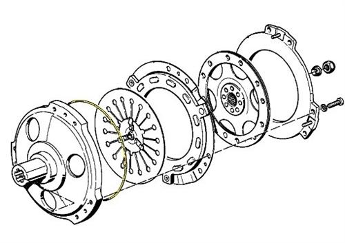 Clutch Spacer Ring Bmw K75