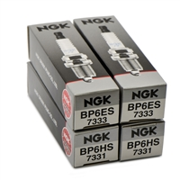 NGK Spark Plugs for Dual Plugged BMW R Airhead 1970-1995; BP6ES, BP6HS/ NGK