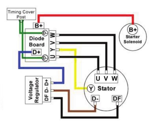 Enduralast Ii 400 Watt Charging System For Bmw R Airhead And Moto Rheuromotoelectrics: Charging System Wiring Diagram For Motorcycle At Elf-jo.com
