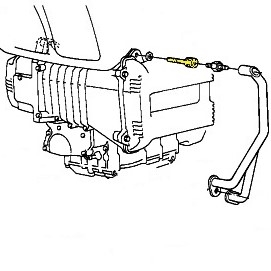 Mounting Bolt for Engine Protection Bar BMW K75, K100