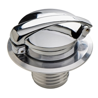 Fuel Tank Gas Cap Polished Monza Style - BMW R Airhead / EnDuraLast