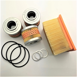 G650GS Maintenance Kit 3 Oil Filters, 1 Air Filter, Orings, and Crush Washers