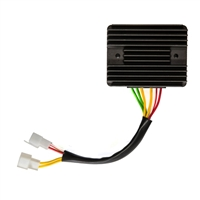 Original Equipment Combination Electronic Voltage Reg & Rectifier. Replacement for Moto Guzzi, Ducati, Laverda1993-on. Mounts remotely for high reliability and performance. Plug-n-Play; Bolt on and connect to Vehicle Wiring Harness.