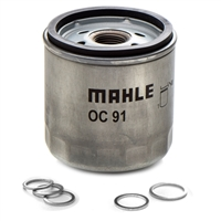 Oil Change Kit Mahle - BMW R Oilhead Part #:  OF-845Kit616 Kit includes 1 Mahle Oil Filter OC 91,   BMW #'s 07 11 9 963 200 x 3 (crush washers) 07 11 9 963 252 x 1 (crush washer) 07 11 9 963 300 x 1 (crush washer), 11 42 1 460 845 x 1 (oil filter)