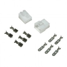 "4-Pin Connector Set 1/4"",male connector,femail connector,4pin female block,4pin male block,male pin,female pin, plug, plug set"