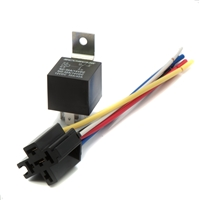 30 amp; 40 amp; SPDT; Universal; 12 volt; relay; wire plug; harness; electrical; Automotive; Motorcycle; socket; 130904677196; SPDT