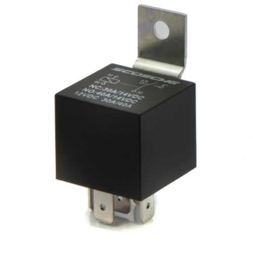 30  40 Amp Spdt Universal 12 Volt Relay With Wire Plug Harness