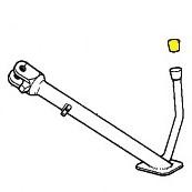 Side Stand End Plug BMW K Bike;46 53 2 312 966 StandPlug966