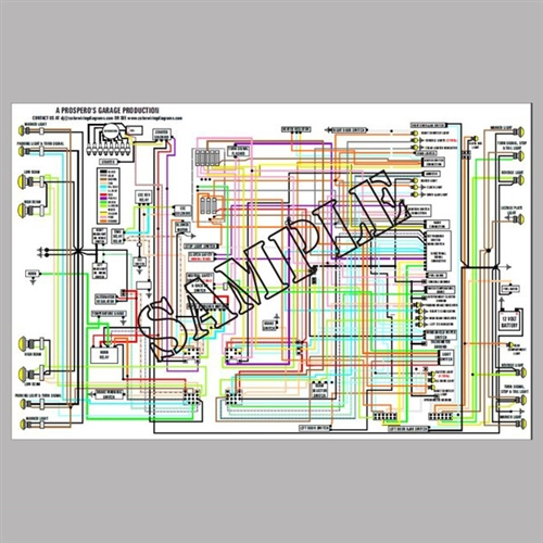 Wiring Diagram BMW R60/6 R75/6 R90/6 1974 on
