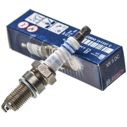 BMW K Spark plugs; BMW K1 spark plugs; BMW K100 spark plugs; BMW K1100 spark plugs; X5DC; XR5DC; BOSCH Super plus spark plugs; Bosch copper core spark plug with single ground;