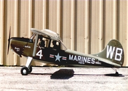 L19 BIRD DOG 1/3 SCALE SHORT KIT - Vailly