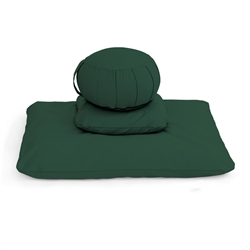 Zafu Meditation Cushion Set with Pillow