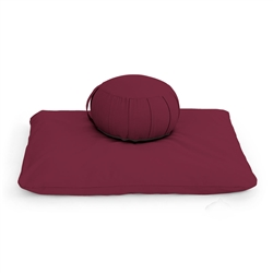 Round Meditation Cushion Set