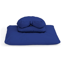 Deluxe Buckwheat Crescent Set | Samadhi Cushions