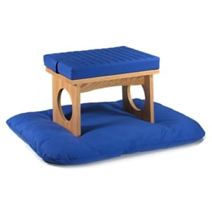 Cloud Meditation Bench Set - Natural Finish