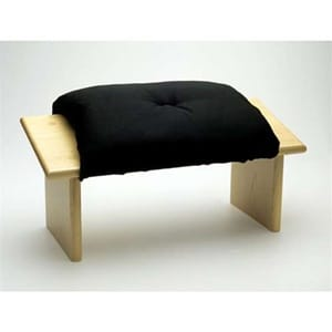 Seiza Bench with Seiza Cushion