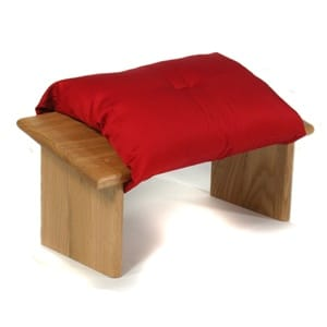 Kneeling Meditation Seiza Bench with Cushion