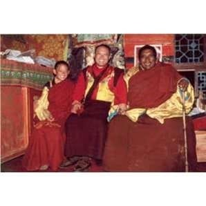 Trungpa Tulku, the Sakyong, Domchö Rinpoche at Surmang Dütsi Til 5X7