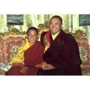 Trungpa Tulku and Sakyong Mipham Rinpoche 10X15
