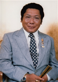 Formal photo of Chögyam Trungpa Rinpoche 5X7