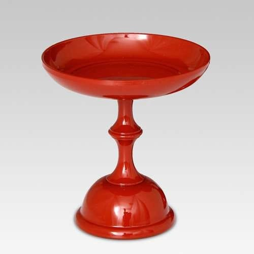 Lacquer Style Offering Pedestal
