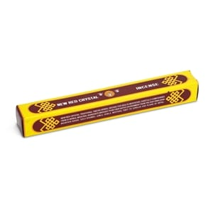 New Red Crystal Tibetan Incense