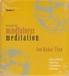 Guided Mindfulness Meditation with Jon Kabat-Zinn on 4 CDs