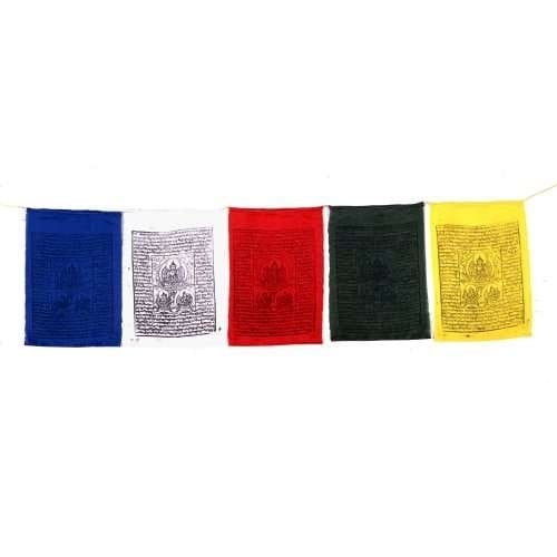 Tibetan Prayer Flags String of 15