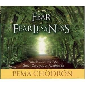 From Fear To Fearlessness: Teachings on the Four Great Catalysts of Awakening, by Pema Chödrön
