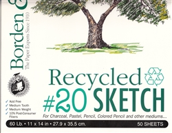 Recycled #20 Sketch Paper