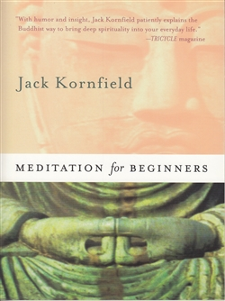 Meditation for Beginners book and CD by Jack Kornfield