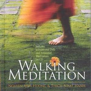 Walking Meditation book, CD, and DVD by Nguyen Anh-Huong & Thich Nhat Hanh