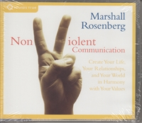 Nonviolent Communication by Marshall Rosenberg on 4 audio CDs
