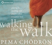 Walking the Walk: Putting the Teachings into Practice When It Matters Most by Pema Chodron on 4 CDs